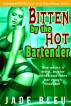 Bitten by the Hot Bartender by Jade Bleu