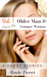 Vol. 1: Older Man & Younger Woman (Regency Lady, 6 short stories) by Rosie Zweet