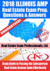 2018 Illinois AMP Real Estate Exam Prep Questions and Answers: Study Guide to Passing the Salesperson Real Estate License Exam Effortlessly by Real Estate Exam Professionals Ltd.