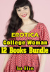 Erotica: College Woman: 12 Books Bundle by Isa Adam