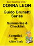 Donna Leon's Guido Brunetti Series - Best Reading Order - with Summaries & Checklist - Compiled by Albie Berk by Albie Berk