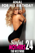 Anal for His Birthday : Sinful Mothers 24 by Tori Westwood