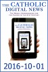 The Catholic Digital News 2016-10-01 by The Catholic Digital News