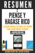 Piense Y Hagase Rico: La Mejor Formula De Todos Los Tiempos Para Hacer Crecer Tu Dinero - Resumen Del Libro De Napoleon Hill by Sapiens Editorial