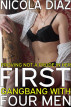 Proving Not A Prude In Her First Gangbang with Four Men by Nicola Diaz