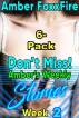 Don't Miss! Amber's Weekly Stories Week 2 by Amber FoxxFire