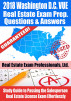 2018 Washington D.C. VUE Real Estate Exam Prep Questions and Answers: Study Guide to Passing the Salesperson Real Estate License Exam Effortlessly by Real Estate Exam Professionals Ltd.