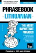 English-Lithuanian phrasebook and 3000-word topical vocabulary by Andrey Taranov