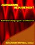 Admission Requirement by OYELADUN RAPHEAL KUNLE