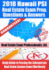 2018 Hawaii PSI Real Estate Exam Prep Questions and Answers: Study Guide to Passing the Salesperson Real Estate License Exam Effortlessly by Real Estate Exam Professionals Ltd.