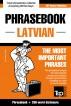 English-Latvian phrasebook and 250-word mini dictionary by Andrey Taranov