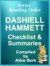 Dashiell Hammett - Series Reading Order - with Summaries & Checklist by Albie Berk