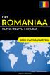 Opi Romaniaa - Nopea / Helppo / Tehokas: 2000 Avainsanastoa by Pinhok Languages
