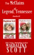The McClains of Legend, Tennessee - Bundle #3 by Magdalena Scott
