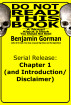 Do Not Read This Book: Chapter 1 (and Introduction/Disclaimer) by Benjamin Gorman