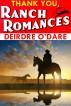 Thank You, Ranch Romances by Deirdre O'Dare