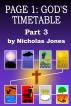 Page 1: God's Timetable Part 3 by Nicholas Jones