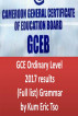 GCE Ordinary Levels 2017 results (Full list) Grammar by Kum Eric Tso