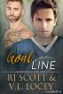 Goal Line by RJ Scott & V.L. Locey