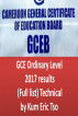 GCE Ordinary Level 2017 results (Full list) Technical by Kum Eric Tso