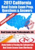 2017 California Real Estate Exam Prep Questions, Answers & Explanations: Study Guide to Passing the Sales Associate Real Estate License Exam Effortlessly by Real Estate Exam Professionals Ltd.