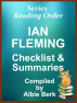 Ian Fleming - Series Reading Order - with Summaries & Checklist by Albie Berk