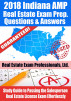 2018 Indiana VUE Real Estate Exam Prep Questions and Answers: Study Guide to Passing the Salesperson Real Estate License Exam Effortlessly by Real Estate Exam Professionals Ltd.