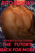 Straight to Gay College: The Tutor's Back for More (The Tutor Goes Wild #2) by Bro Biggly