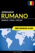 Aprender Rumano - Rápido / Fácil / Eficaz: 2000 Vocablos Claves by Pinhok Languages
