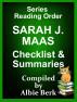 Sarah J. Maas - Series Reading Order - with Summaries & Checklist by Albie Berk
