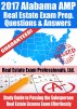 2017 Alabama AMP Real Estate Exam Prep Questions and Answers - Study Guide to Passing the Salesperson Real Estate License Exam Effortlessly by Real Estate Exam Professionals Ltd.