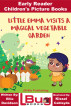 Little Emma Visits a Magical Vegetable Garden - Early Reader - Children's Picture Books by Ellie Davidson