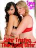 Sister Treating, Then Eating Sister by Tonya Tart