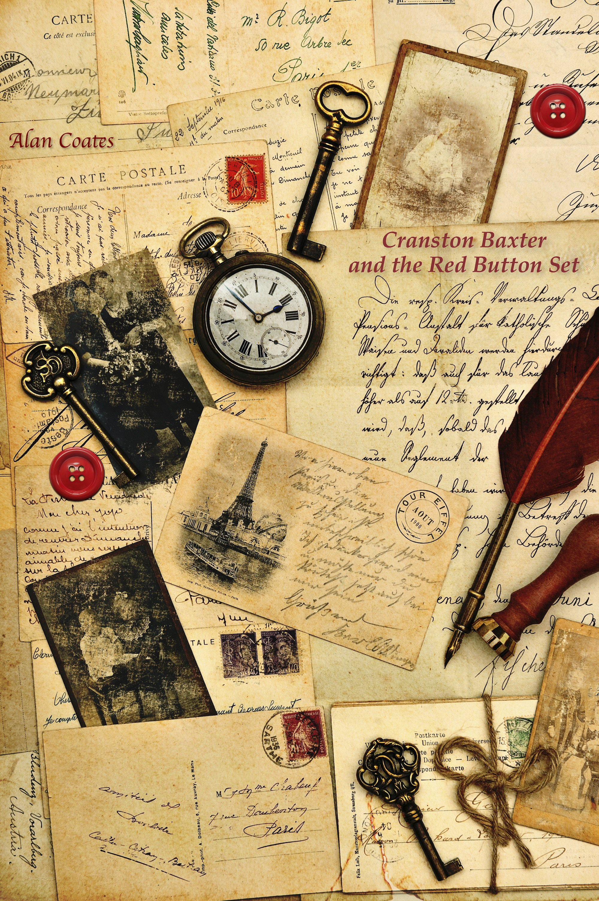 Старинный стиль для открытки