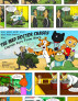 Captain Kuro From Mars And The Mad Doctor Returns Comic Strip Booklet Nepali Version by Nick Broadhurst