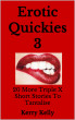 Erotic Quickies 3 - 20 more XXX shorts by Kerry Kelly