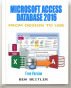 Microsoft Access Database 2016: From Design to Use (Free Version) by Ben Beitler