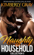 Naughty Household: Collection 5 (Incest, Bareback Brat, First Time Taboo, Daddy Daughter) by Kimberly Gray