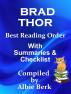 Brad Thor - Best Reading Order with Summaries & Checklist by Albie Berk