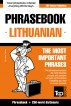 English-Lithuanian phrasebook and 250-word mini dictionary by Andrey Taranov