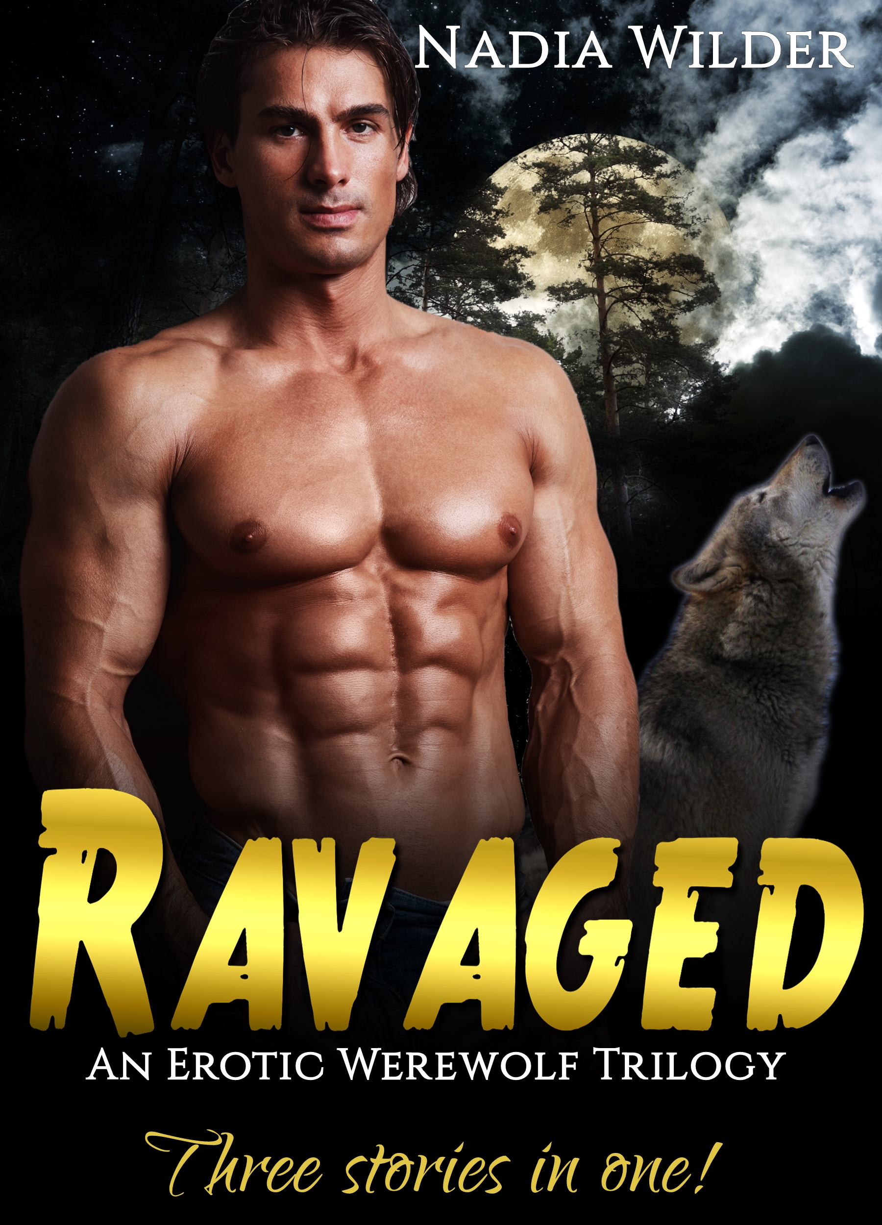 Woman ravaged by werewolf hentay download