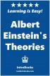 Albert Einstein's Theories by IntroBooks