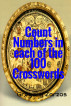 Count Numbers in each of the 100 Crosswords by Grigorios Zorzos