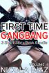 First Time Gangbang Volume 4- 3 short story book bundle by Nicola Diaz