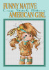 Funny Native American Girl Cross Stitch Pattern Project/ New Unique Needlework Design by Inna Zimovec