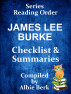 James Lee Burke - Series Reading Order - with Summaries & Checklist by Albie Berk