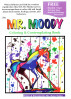 The Mr. Moody Coloring & Contemplating Book by Marty Walker