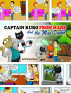 Captain Kuro From Mars And The Mad Doctor Comic Strip Booklet by Nick Broadhurst