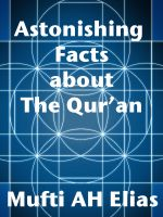 Cover for 'Astonishing Facts About The Quran'