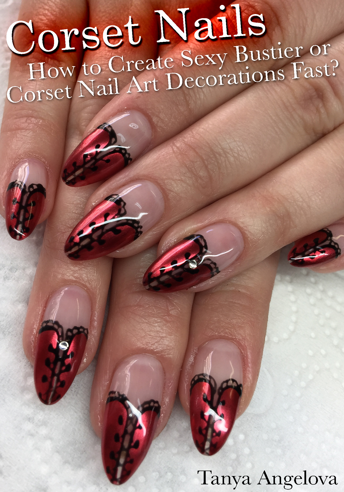 Smashwords Corset Nails How To Create Sexy Bustier Or Corset Nail
